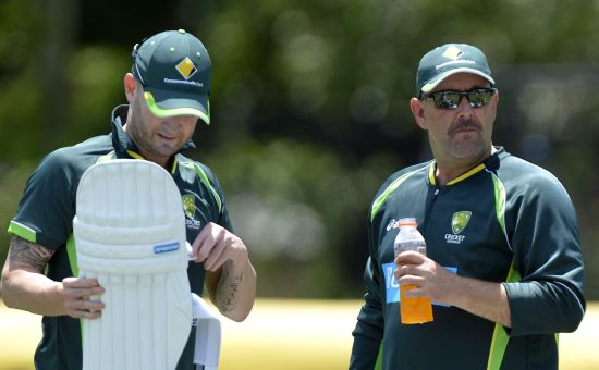 Australia's Lehmann pleased to be 'bowled out'