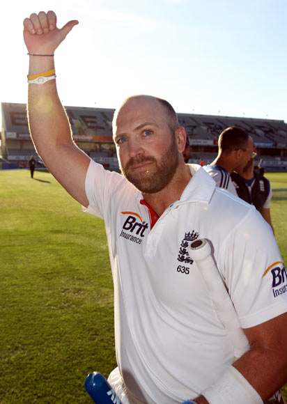 Matt Prior of England.