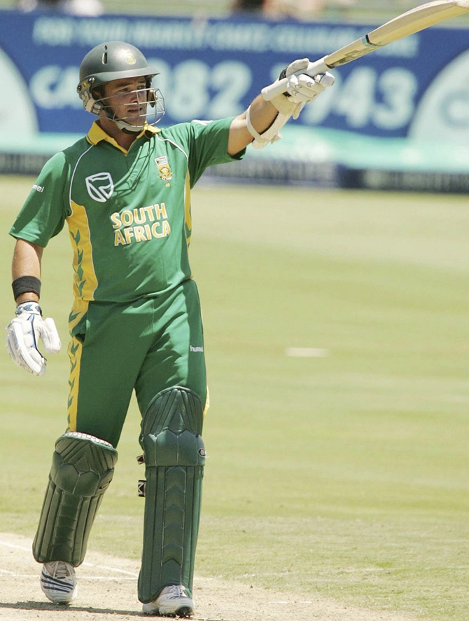 Mark Boucher of South Africa