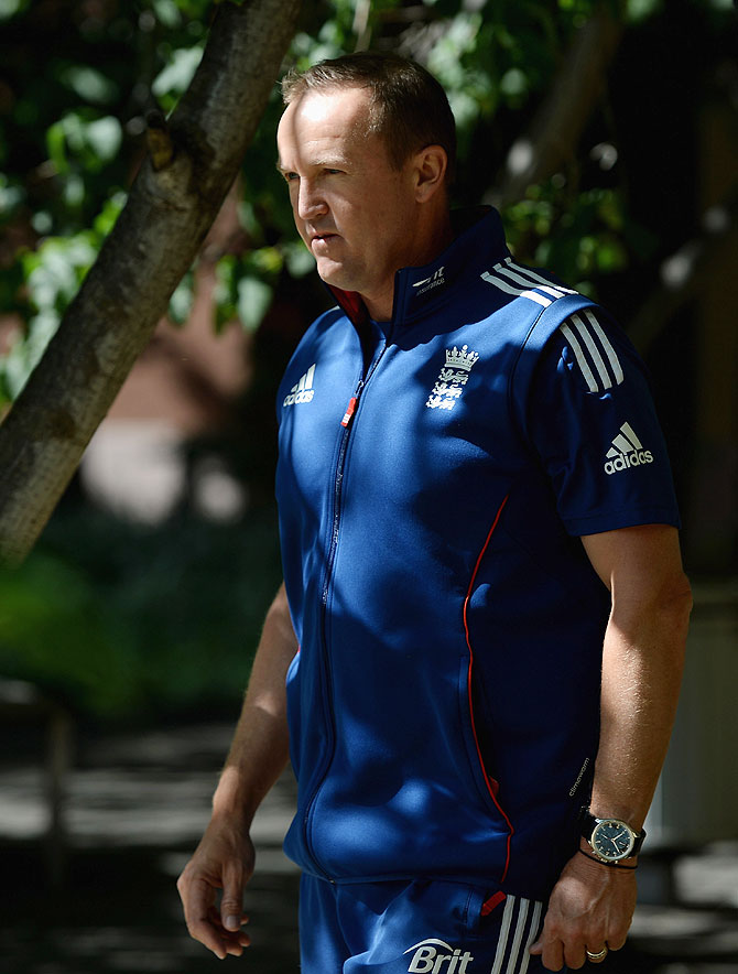 England captain Andy Flower