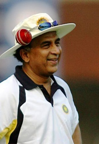 Gavaskar makes Ranji debut... as commentator with son Rohan
