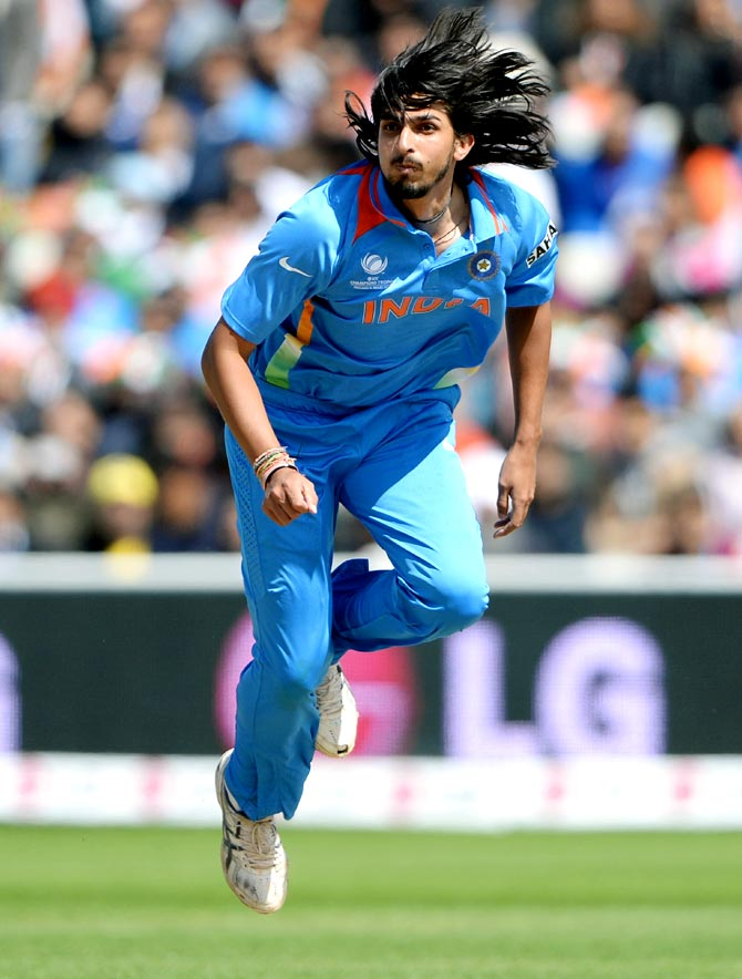 Ishant Sharma, India's most experienced bowler, has gone from bad to worse.