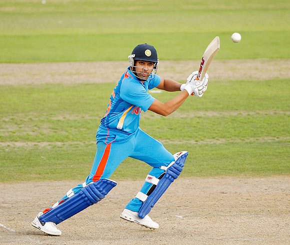 After hitting 72 in the game against the West Indies, Rohit Sharma has scored just one run more -- 76 runs -- in six innings!