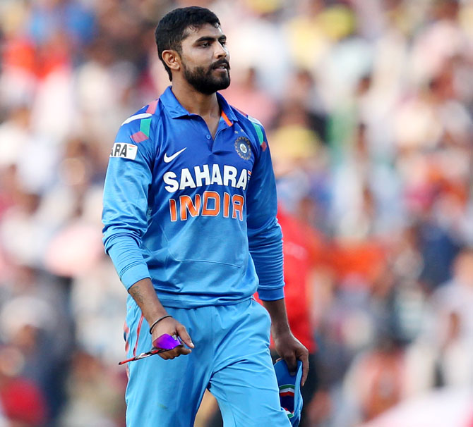 India needs a medium pace all-rounder rather than a spinning all-rounder like Ravindra Jadeja considering the pace-friendly wickets the team will encounter in next year's World Cup.