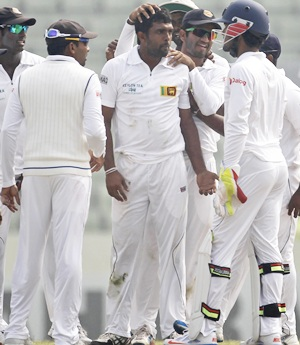 Sri Lanka crush Bangladesh with a day to spare