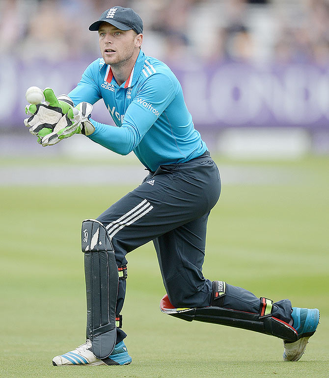 England wicketkeeper Jos Buttler