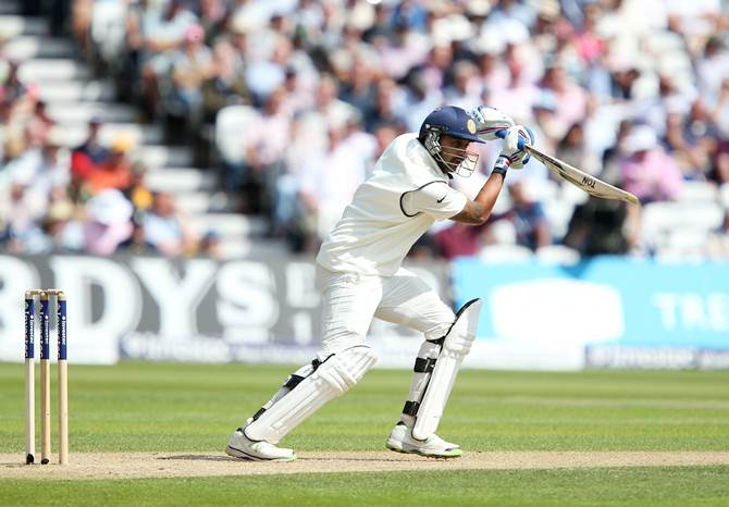 Murali Vijay on the way to his hundred