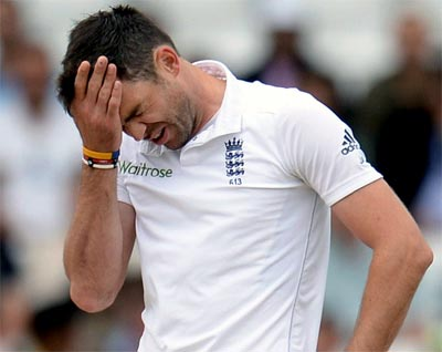 England pacer Anderson faces two-Test ban for 'abusing' Jadeja