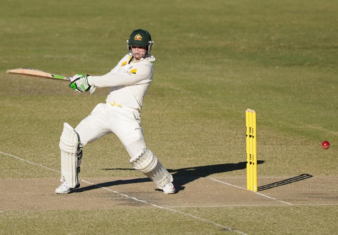 Phillip Hughes of Australia 'A'