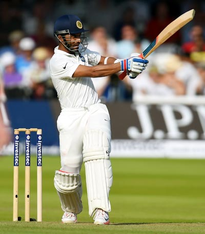Rahane's century leads India's fightback on Day 1
