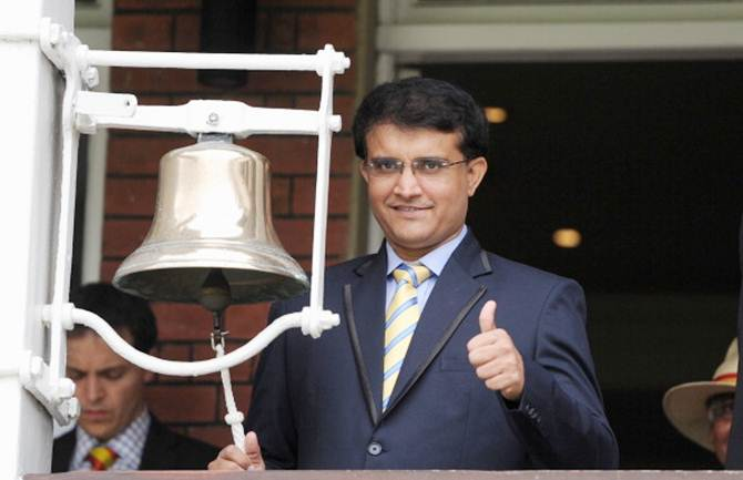 First Look: Ganguly rings the bell on Day 5 of Lord's Test