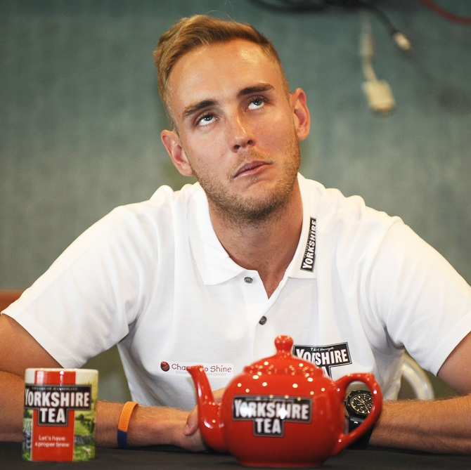 Rediff Cricket - Indian cricket - Why Stuart Broad 'changed' his hotel room before Lord's Test