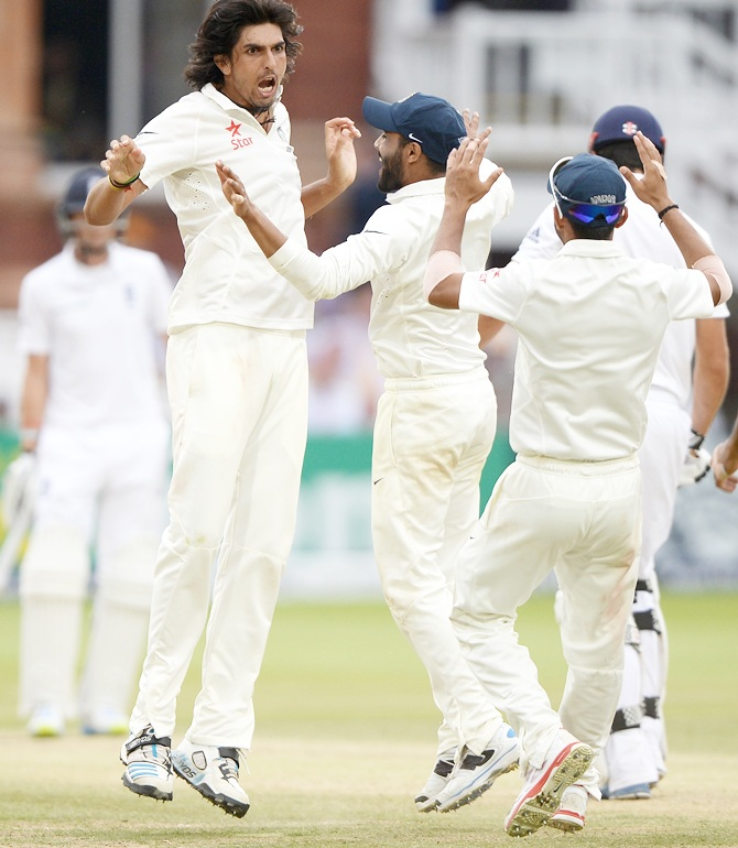 Rediff Cricket - Indian cricket - Stats: Records galore for Ishant Sharma at Lord's
