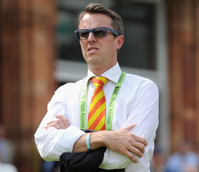 Test Match Special commentator Graeme Swann