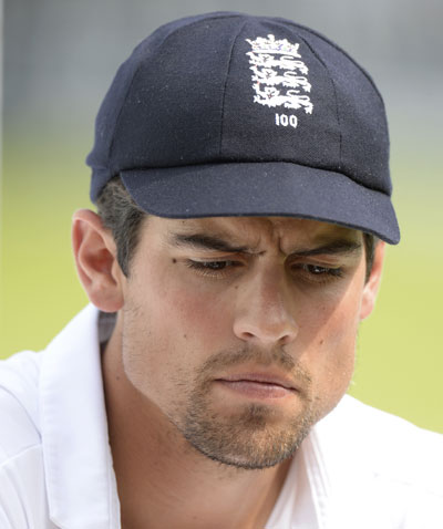 England's captain Alastair Cook after India won the second Test at Lord's