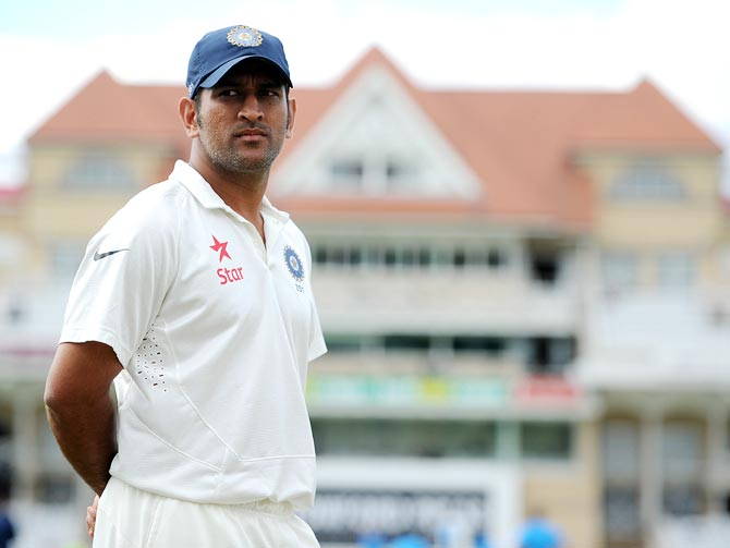 'It's a lack of confidence that Dhoni couldn't stand up to stumps'