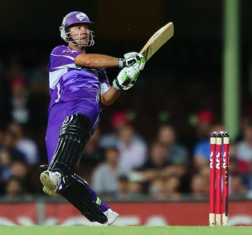 Ricky Ponting used to play for Hobart Hurricanes