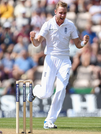 Southampton Test: Anderson and Broad leave India in trouble