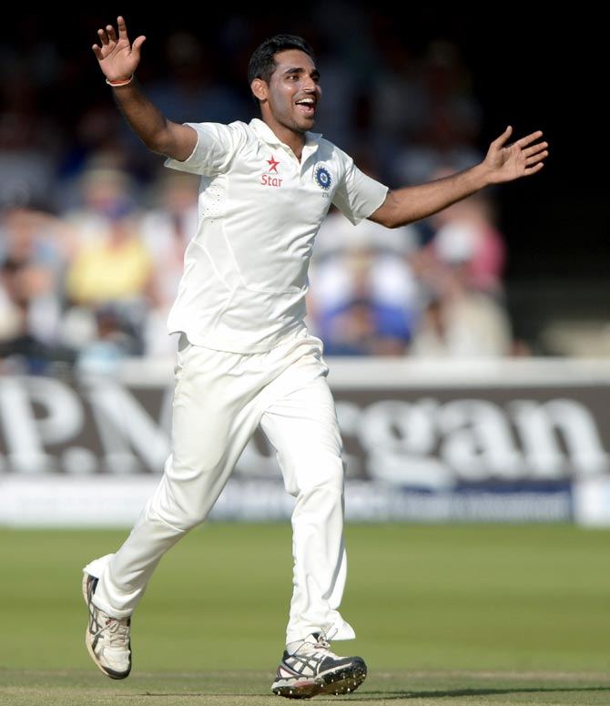 Bhuvneshwar Kumar has been a revelation in England.