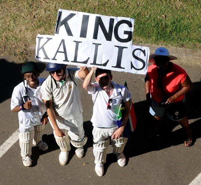 Fans of Jacques Kallis