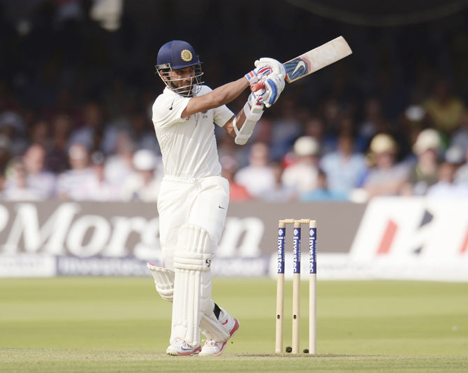 India's Ajinkya Rahane hits out