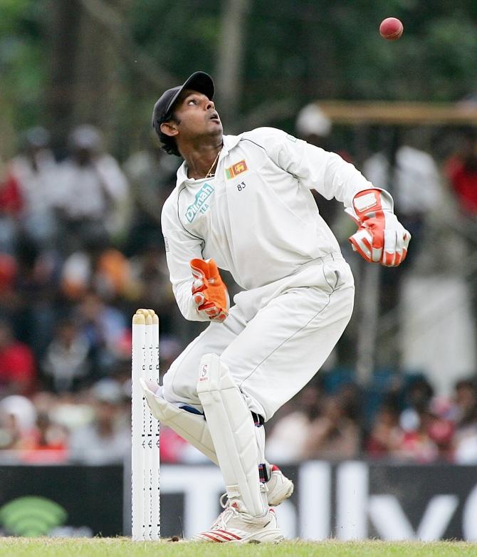 Wicketkeeper Prasana Jayawardene