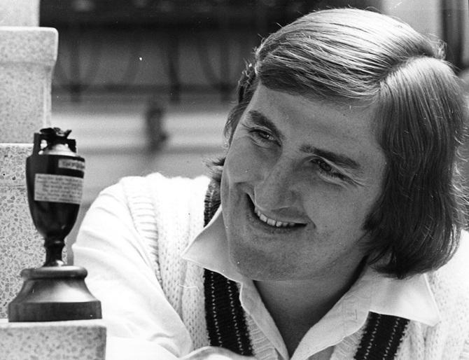 Australian cricketer Gary Gilmour