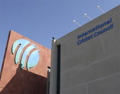 The International Cricket Council's headquarters in Dubai