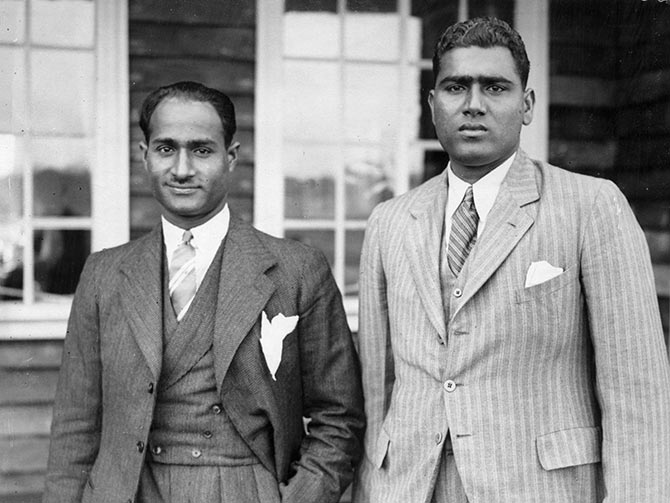 Nazir Ali (left) and Mahomed Nissar