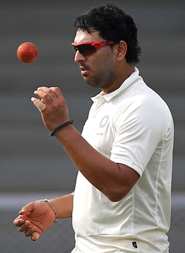Rediff Cricket - Indian cricket - I have been working hard on my bowling: Yuvraj