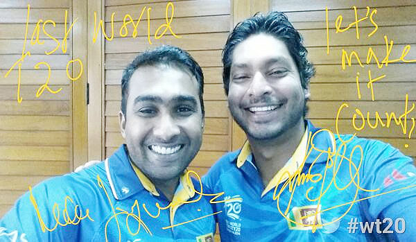 Mahela Jayawardene and Kumar Sangakkara
