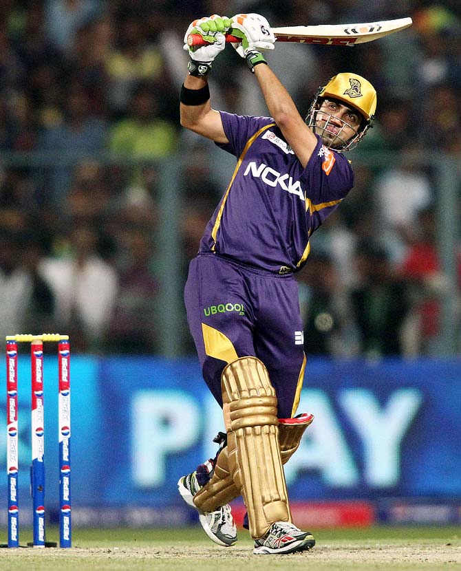 I don't play IPL for making a personal comeback: Gambhir
