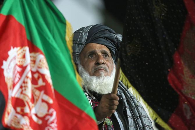 A despondent Afghanistan fan