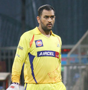 Chennai Super Kings' MS Dhoni