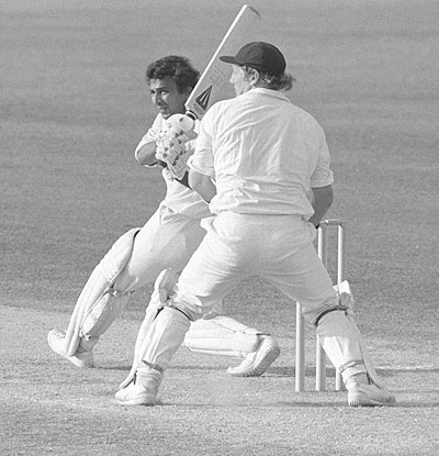 The Great Sunil Gavaskar. Photograph: Adrian Murrell/Allsport/Getty Images