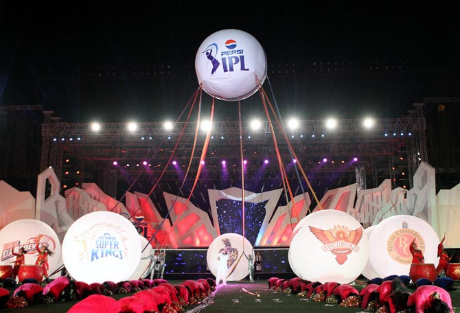 The opening ceremony of IPL 6