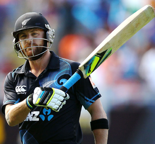 Brendon McCullum of New Zealand