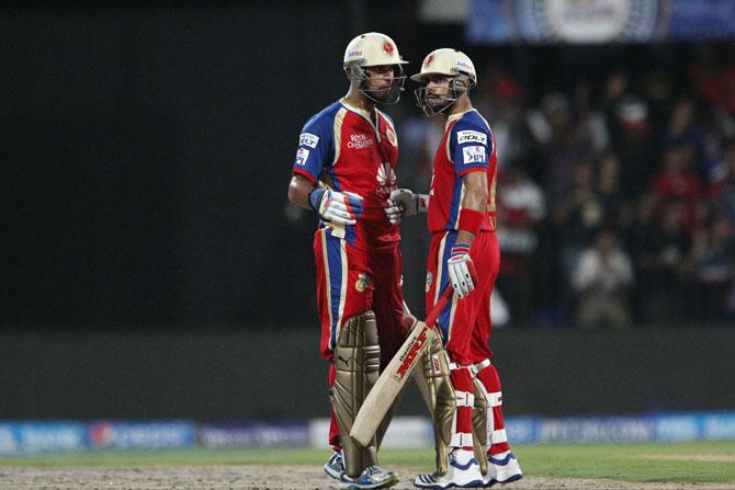 Yuvraj Singh and Virat Kohli