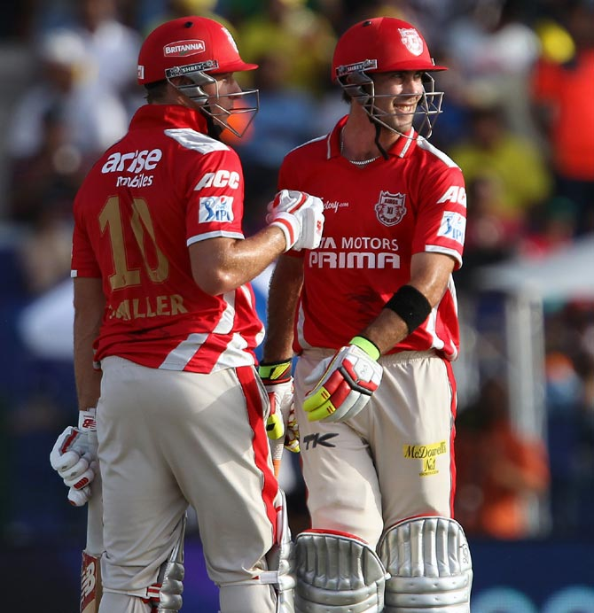 David Miller and Glenn Maxwell have been in top form