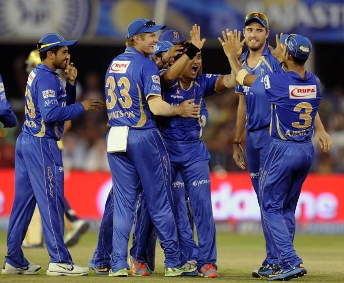 IPL PHOTOS: Veteran Tambe 'tricks' Rajasthan to unlikely victory