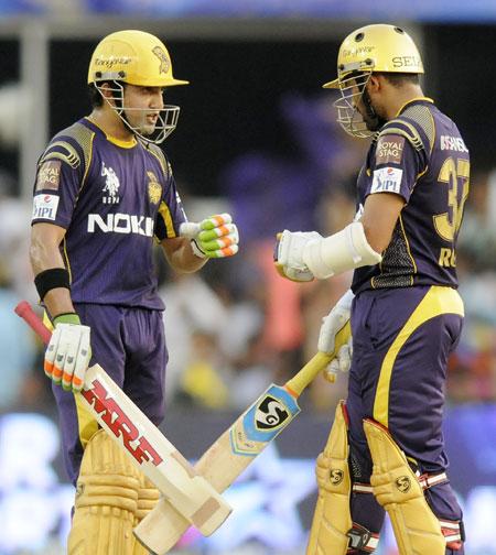 Gautam Gambhir and Robin Uthappa