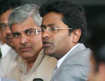 Shashank Manohar and Lalit Modi