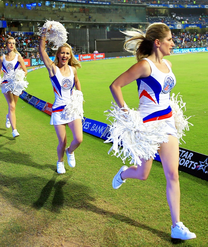 Royal Challengers Bangalore's cheerleaders