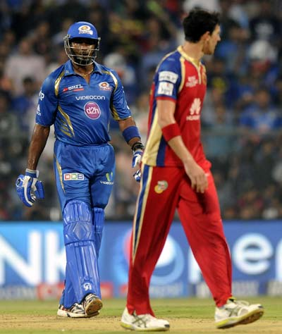 IPL: Pollard, Starc escape with fines for Wankhede spat