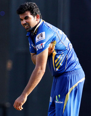 Zaheer will miss the remainder of the IPL season, confirms Rohit