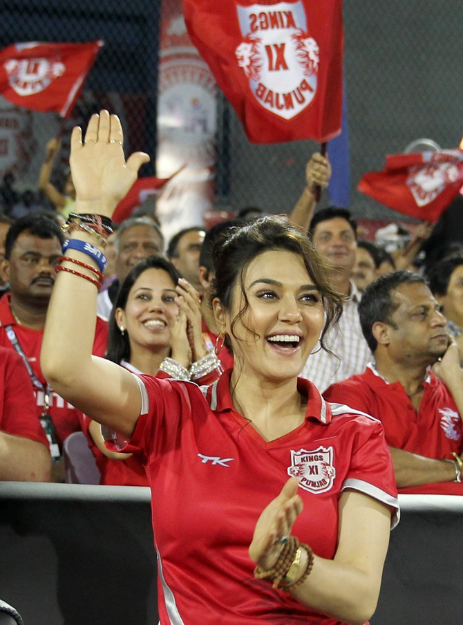 IPL PHOTOS: Delight for Preity Zinta