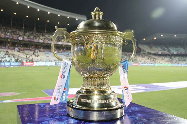 The Pepsi IPL Trophy.