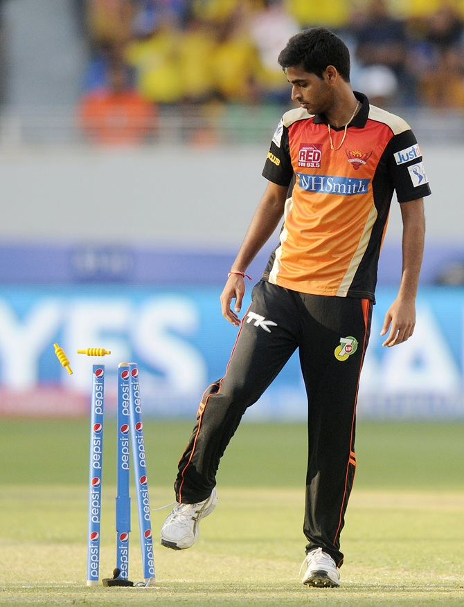 Stats: Bhuvneshwar Kumar records his best IPL performance