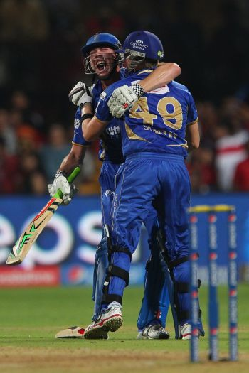 Smith, Faulkner guide Rajasthan to stunning win over RCB