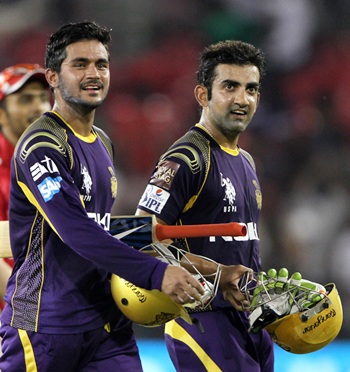 Gambhir steers KKR to a comprehensive win over KXIP